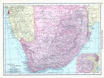 Union of South Africa, World Atlas 1913